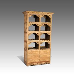 Bookshelf Andoran 90x53x190cm