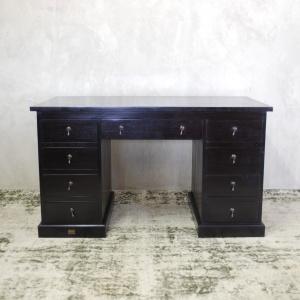 M_45 Desk Mahogany