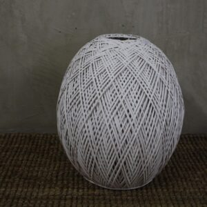 T_38 Lamp shade white rattan