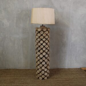 Wood end Lamp