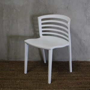 Slatted Polyprop Chair