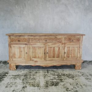 Buffet 4 Door 4 Drawer Reclaimed Teak