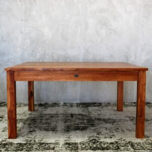 Kalissa narrow leg square TEAK 1