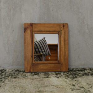 Mirror Refine Reclaimed Pine