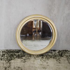 Pasco Round Mirror Gold