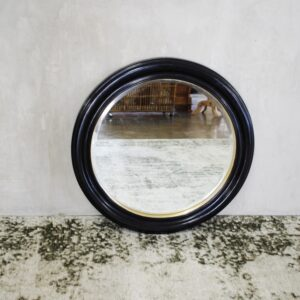 Pasco Round Mirror Gold Rim
