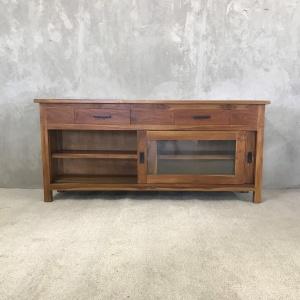Custom Wood Console 1