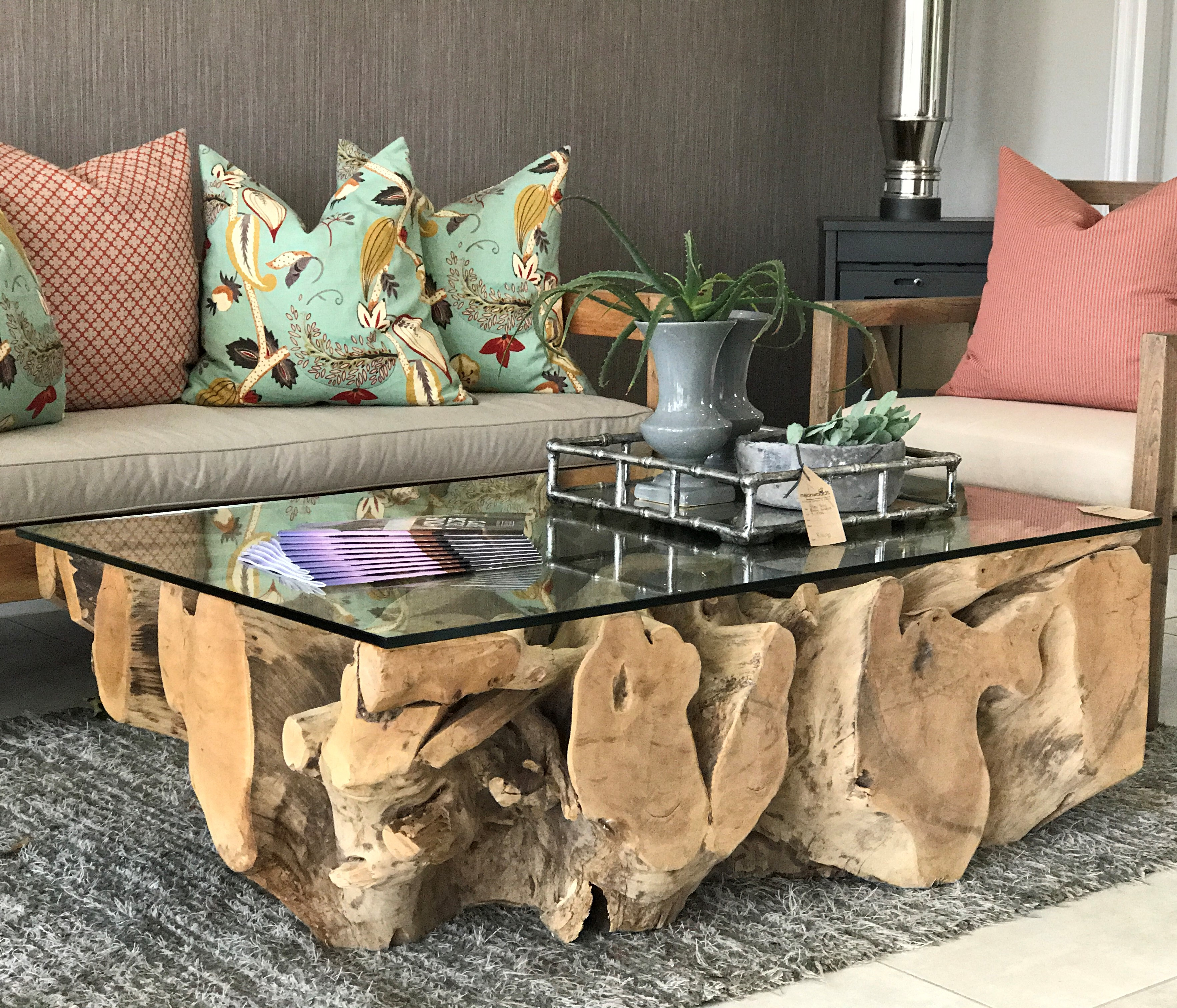 Melonwoods indonesian furniture quality wooden furnitureroot root coffee table geotapseo Image collections