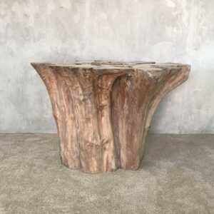 Teak wood dining table base