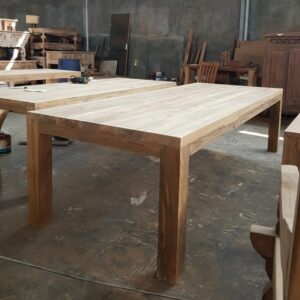 Teak wooden table