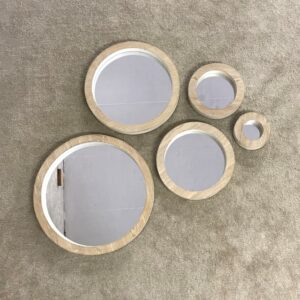 Round Mirror Set of 5