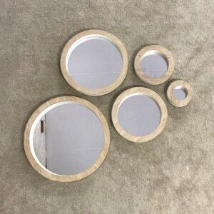 Round Mirror Set of 5