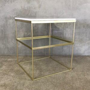 Inox Gold Side Table_1