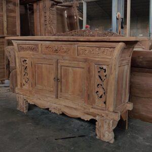 carved teak