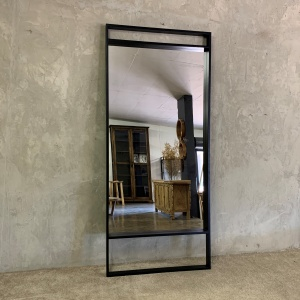 Standing Mirror Tall BLACK_1