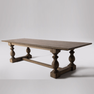 French Vintage Dining Table_1