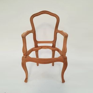 Louis Dining Armchair no carving 1090 RAW