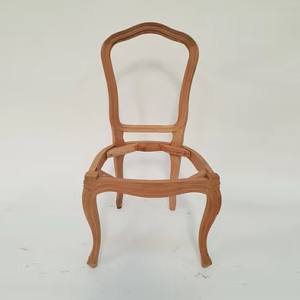 Louis Dining Chair no carving 1064 RAW