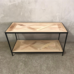 Parquet Side Table_2.JPG HALL 120cm_1