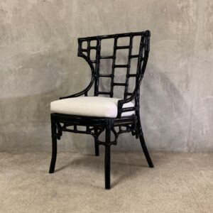 Col Dining Chair Rattan BLACK_1