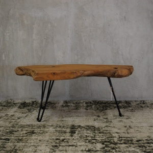 Iron Leg Coffee Table 1