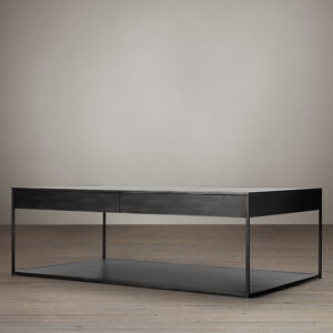SQ Condor Coffee_Metal and wood coffee table