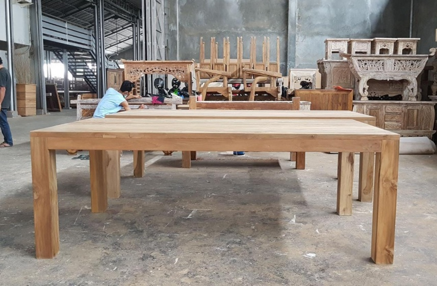 Melonwoods Indonesian Furniture Quality Wooden Furniturereclaimed Teak Dining Table 280cm 10 Seater Melonwoods Indonesian Furniture Quality Wooden Furniture