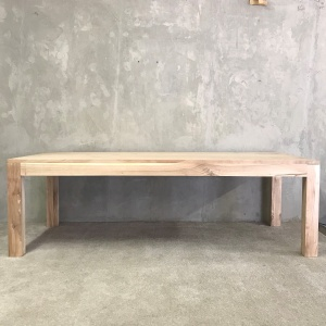 Flush leg dining table 1